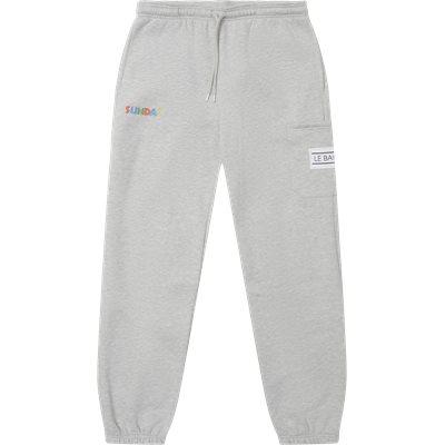 ALGERIA sweatpants Regular fit | ALGERIA sweatpants | Grå